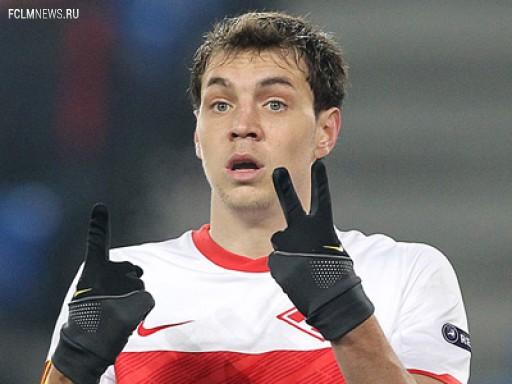 Дзюба не получал повторное предложение о продлении контракта со «Спартаком»