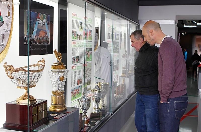 Олег Пашинин в музее