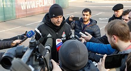 Миодраг Божович: «Не думаю, что в понедельник нас ждет легкий матч»