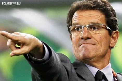 Фабио Капелло отказался от идеи сбора национальной команды в декабре