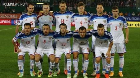 Россия покинула топ-30 рейтинга ФИФА
