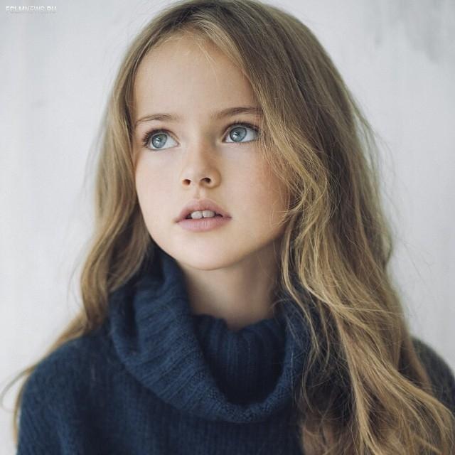 Дочь Пименова признали самой красивой девочкой в мире