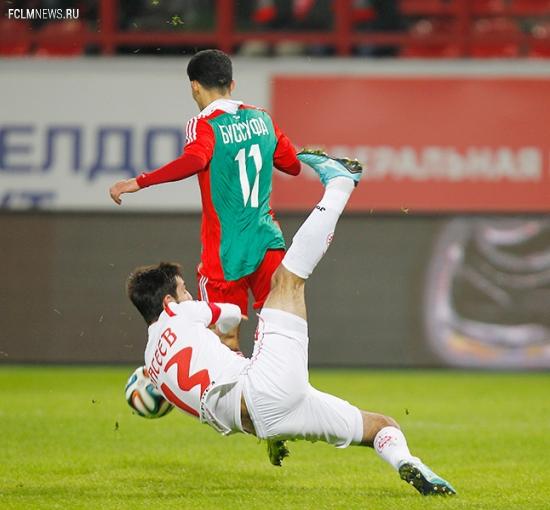 «Локомотив» - «Уфа» 0:0