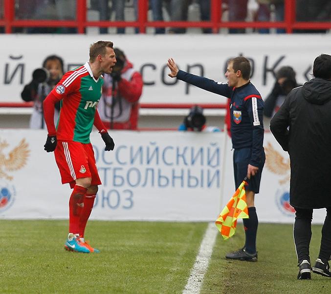 «Локомотив» - «Спартак» 1:0. Фото