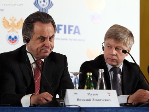 Виталий Мутко и Николай Толстых Источник: Sovsport.ru