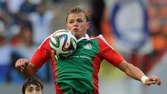 Тарасов сыграл в футбол на Мальдивах