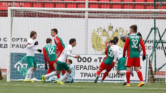 «Терек» - «Локомотив» 1:3. Млодёжка