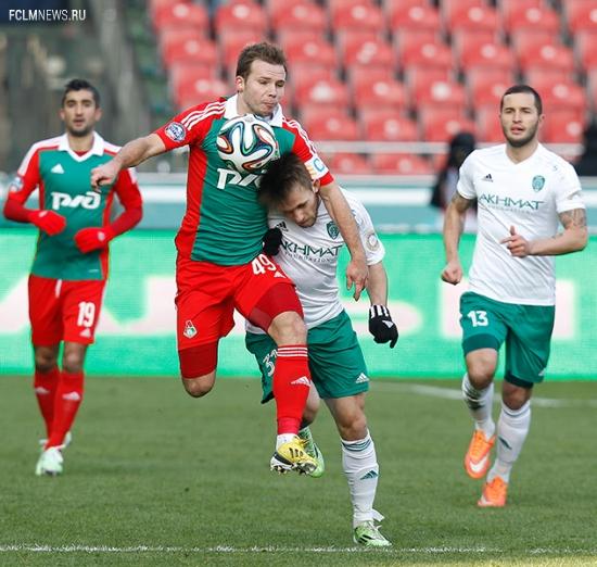 «Терек» - «Локомотив» 0:0