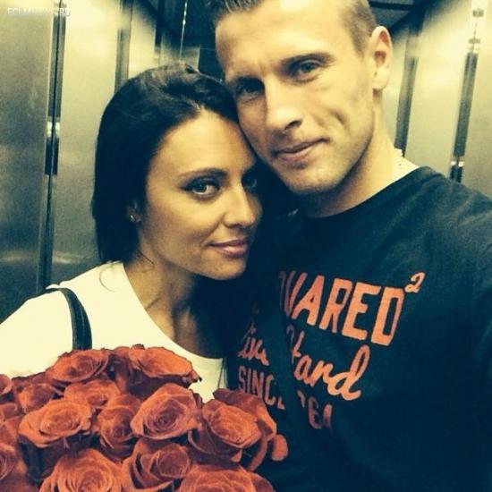 Ян Дюрица и его девушка