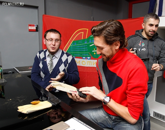 Встреча Руслана Нигматуллина с болельщиками