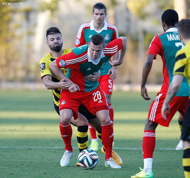«Локомотив» - «Боруссия» U-23 0:1