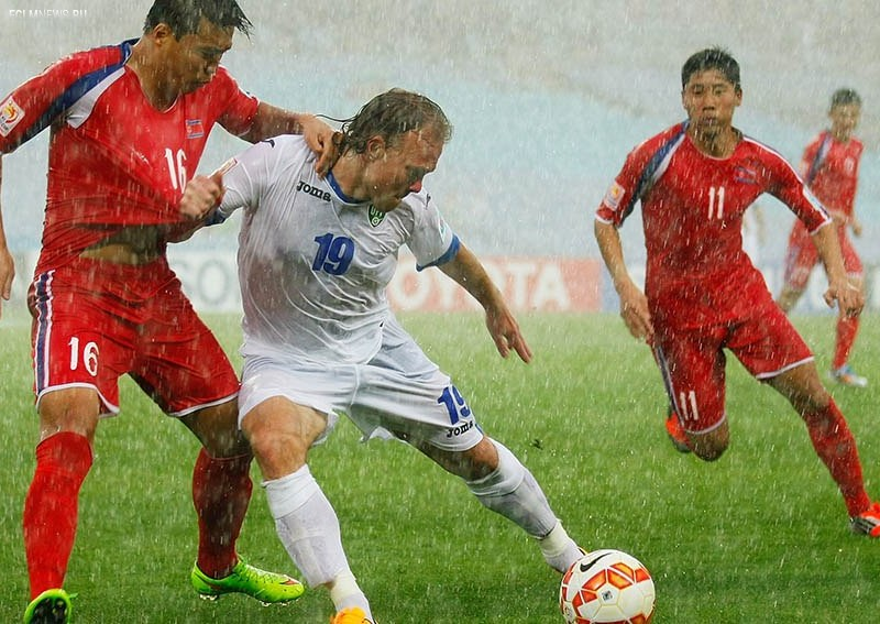 Южная Корея победила Узбекистан и вышла в полуфинал
