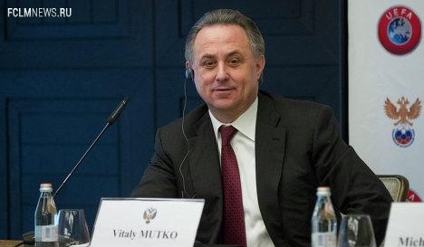 Мутко займет место Фурсенко в исполкоме УЕФА без права голоса