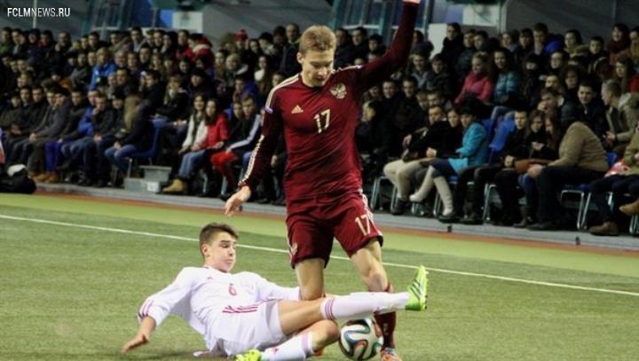 Юношеская сборная России по футболу выиграла международный турнир в Минске