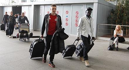 «Локомотив» прибыл на сбор в Испанию