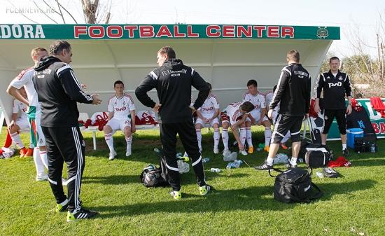 «Локомотив» - «Арсенал» 1:1, молодежки