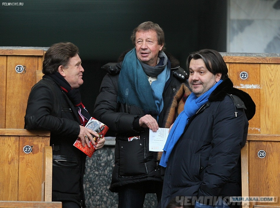 Бывший президент «Локомотива» Наумов навестил Сёмина на сборе «Мордовии»