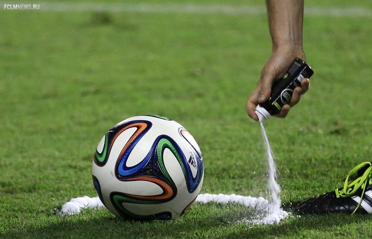 Исчезающий спрей появится в премьер-лиге уже в этом сезоне