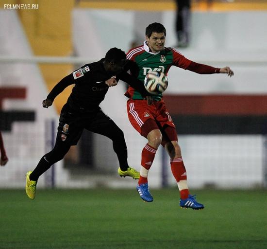 «Локомотив» - «Динамо» (Бухарест) 1:0