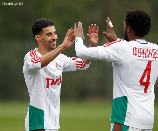 «Локомотив» - «Видетон» 1:0