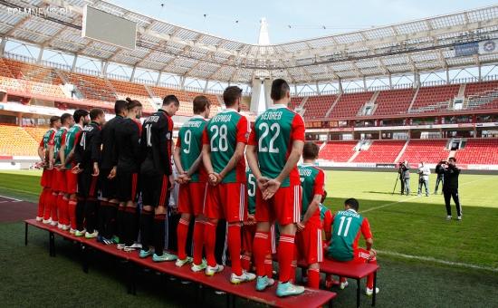 Локомотив сегодня сделал командное фото