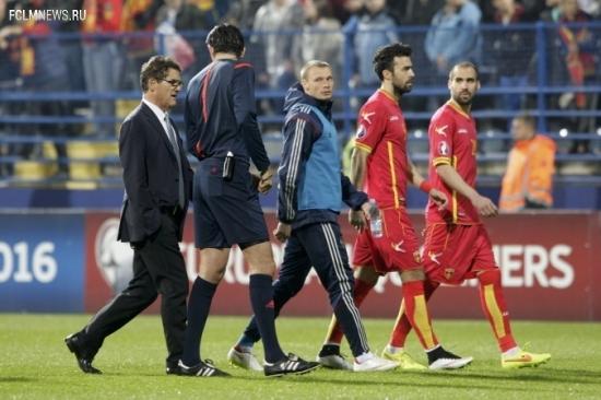 Как случился скандал в отборочном матче Черногория — Россия