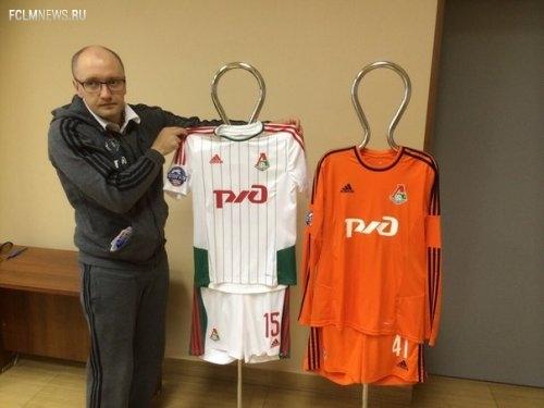 Локомотив сыграет с Динамо в белой форме