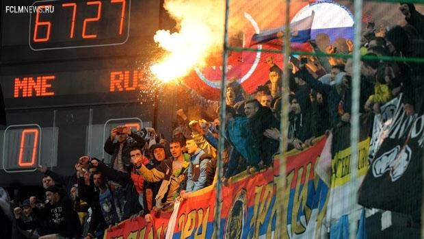 УЕФА объявит решение о матче в Подгорице сегодня вечером либо 9 апреля