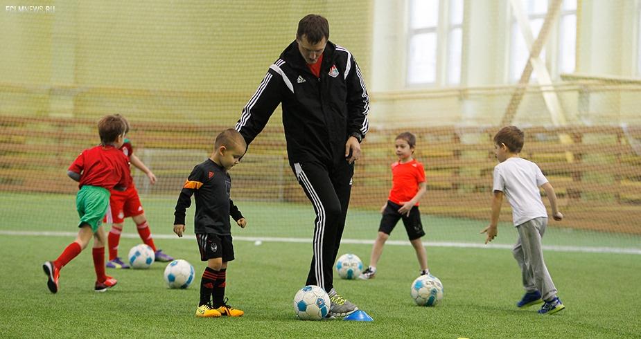 Набор детей в школу «Локомотива»