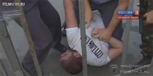 Около 30 человек задержаны после драки фанатов «Локомотива» и «Торпедо»