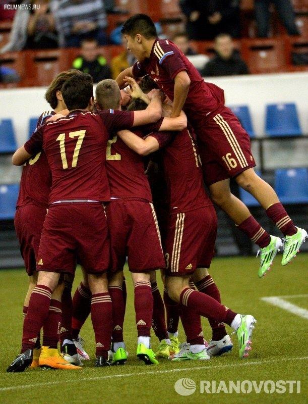 Юношеская сборная России победила финнов в матче международного турнира УЕФА