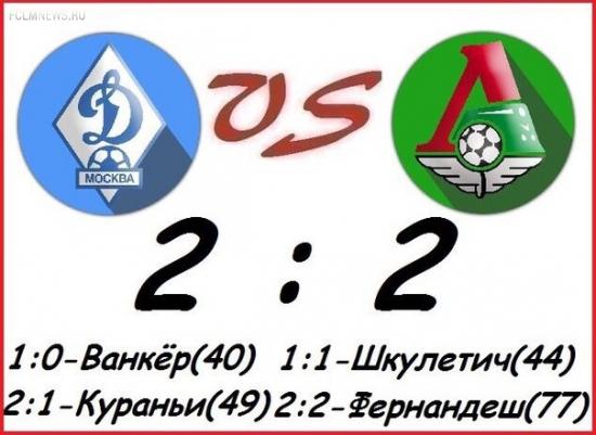 Безвыигрышная серия «Динамо» выросла до пяти матчей, «Локомотив» не знает побед в трех последних матчах