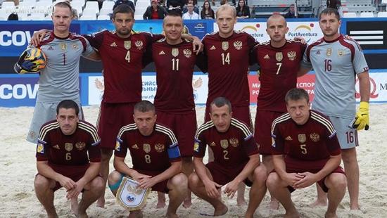 Сборная по пляжному футболу сыграет с Францией, Голландией и Белоруссией