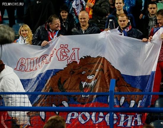 Россию подтолкнули к успеху