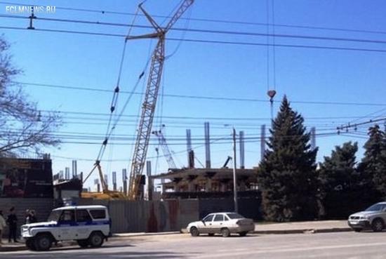 В Волгограде обрушились конструкции строящейся к ЧМ-2018 гостиницы