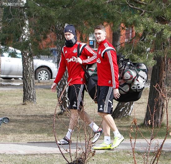 «Локомотив» готовится к «Краснодару»