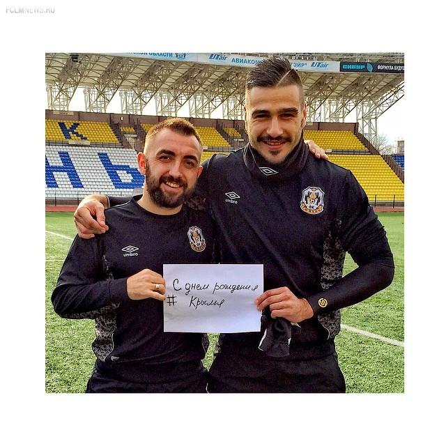 Футболисты – в «Инстаграме»