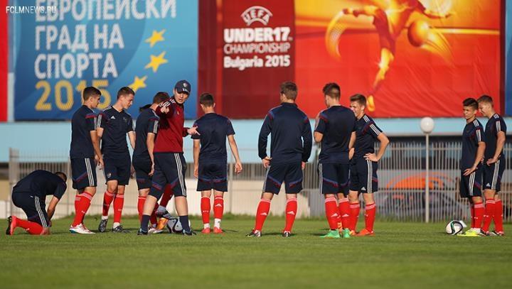 В Болгарии стартует ЕВРО-2015 (U-17)