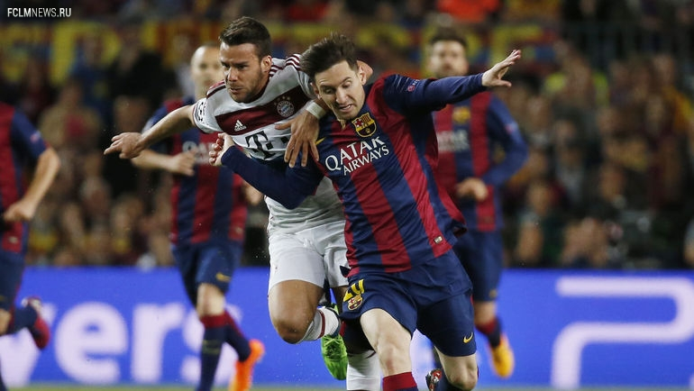 Лига чемпионов. 1/2 финала. «Барселона» разгромила «Баварию»