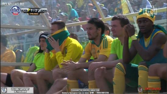 Кубань - Динамо - 1:2
