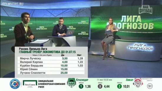 Лига Прогнозов: Новым главным тренером Локомотива может стать Мирча Луческу