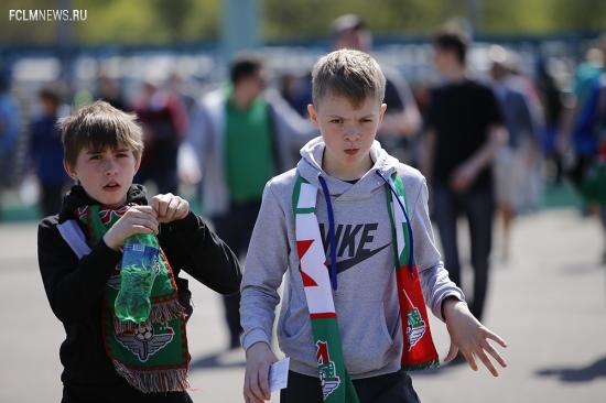 «Школьный сектор» на матче с ЦСКА