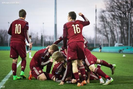 Сборная России обыграла Англию и вышла в полуфинал чемпионата Европы U-17