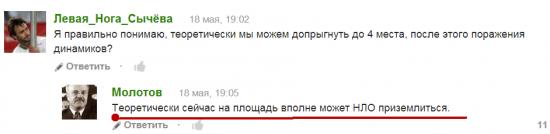 Лучшие комментарии пользователей fclmnews.ru за прошедшую неделю