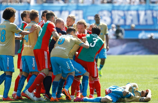 «Зенит» - «Локомотив» - 1:0