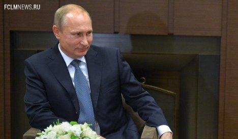 Путин считает нужным создание общедоступного спортивного телеканала