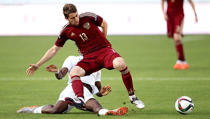 Юношеская сборная России обыграла англичан