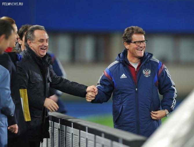 Матч россиян с Австрией в отборе ЧЕ будет для Капелло ключевым, заявил Мутко