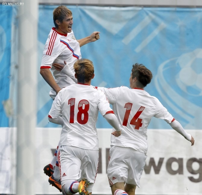 Молодёжная сборная России обыграла сверстников из Беларуси