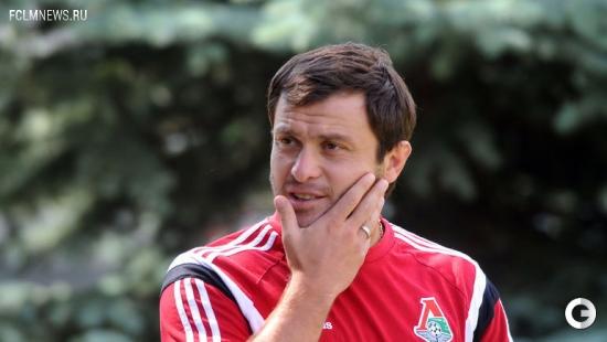 """Открытая тренировка """"Локомотива"""" с Черевченко"""